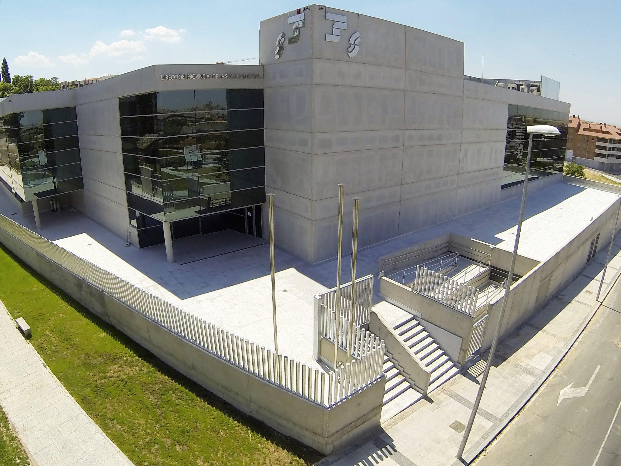 No residencial - Proyectos - Proyecon Galicia - Sede de la TGSS en Segovia