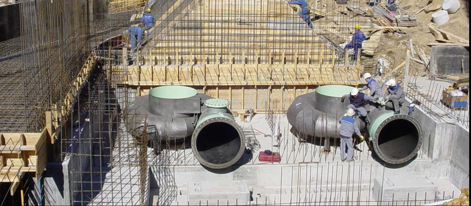 Hidráulica - Central Eléctrica de la Merca
