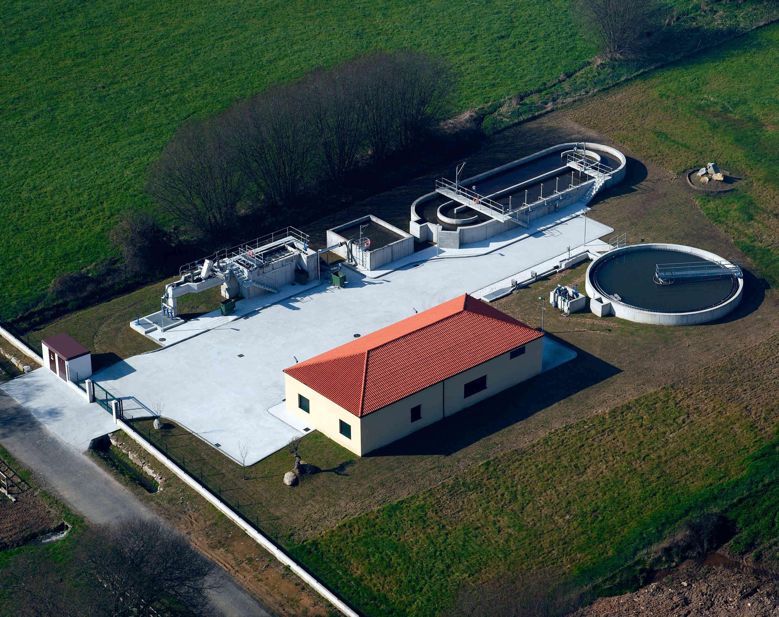 Hidráulicas - Obra Civil - Estación depuradora de aguas residuales de Carral, A Coruña